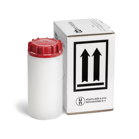 Red bio-bottle Complete