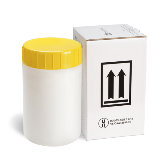Yellow bio-bottle Complete
